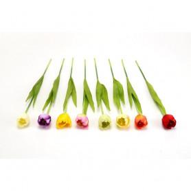 Искусственные цветы: тюльпан