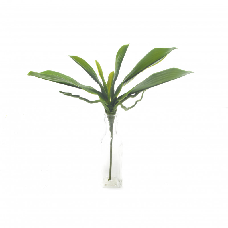 Kwiaty sztuczne- liść storczyka 35cm