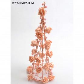 Ornamenty bożonarodzeniowe: CHOINKA Z RÓŻ