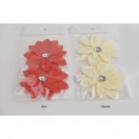 Искусственные цветы георгин бутон сетка