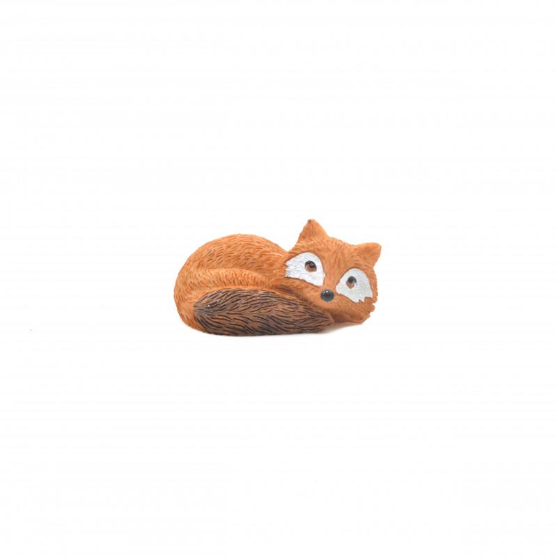 Tw.sztuczne lis figurka 7cm
