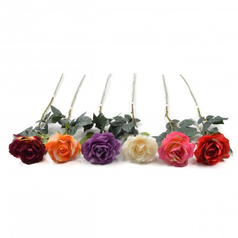 RÓŻA (pojedyncza)- Kwiaty sztuczne