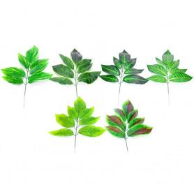 Искусственные цветы: лист