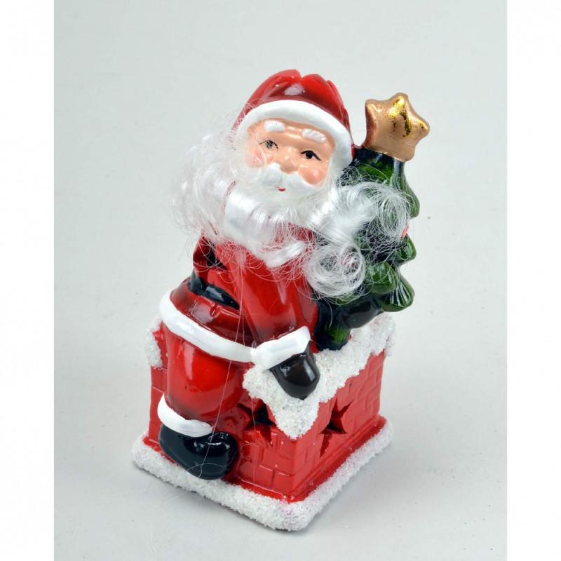 Керамический Дед Мороз LED