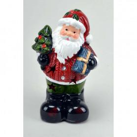 Figurka Świętego Mikołaja LED