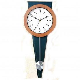 Zegar brązowy na trójkącie