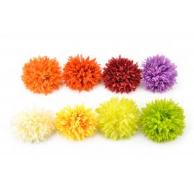 CHRYZANTEMA SATYNA (wyrobowa)-Kwiaty sztuczne
