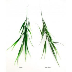 Искусственные цветы: зелёная веточка