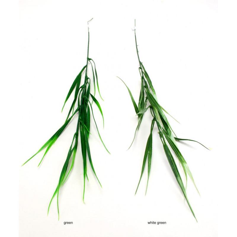 Kwiaty sztuczne: zielona gałązka