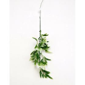 ZIELONO-BIAŁY (dodatek)-Kwiaty sztuczne