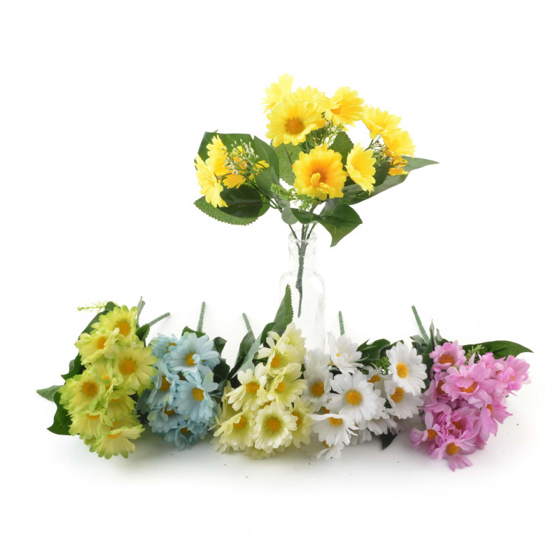 Kwiaty sztuczne rumianki bukiet