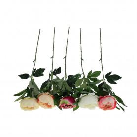 Kwiaty sztuczne piwonia łodyga
