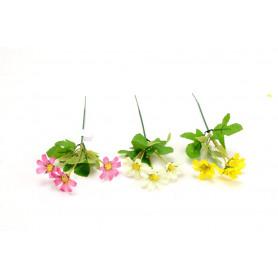 Искусственные цветы: ромашек одиночные