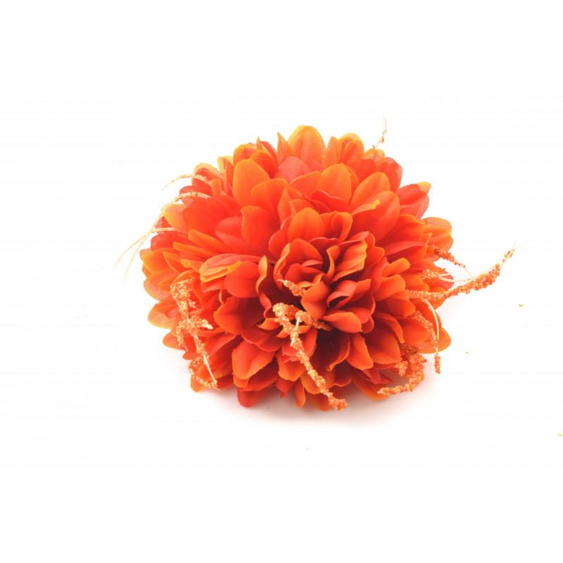 CHRYZANTEMA Z WĄSEM (wyrobowa)-Kwiaty sztuczne