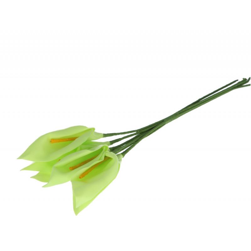 Искусственные цветы: калла (бутон )