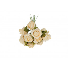 Kwiaty sztuczne pik pianka róża 12cm