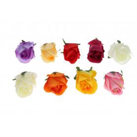 Kwiaty sztuczne róża wyrobowa