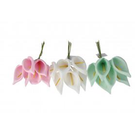 Kwiaty sztuczne wiązka kalii