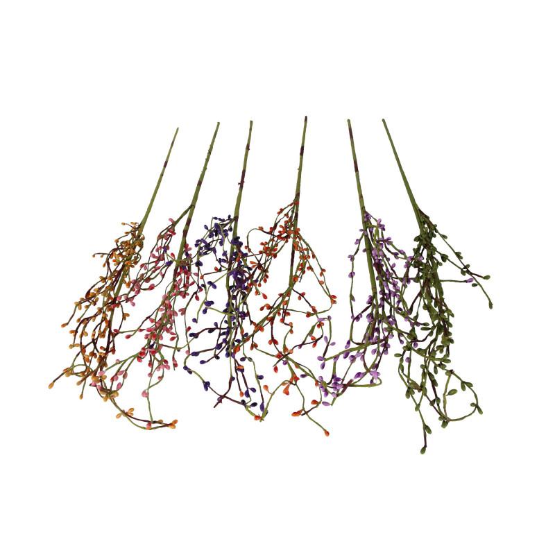 Kwiaty sztuczne dodatek kolorowy
