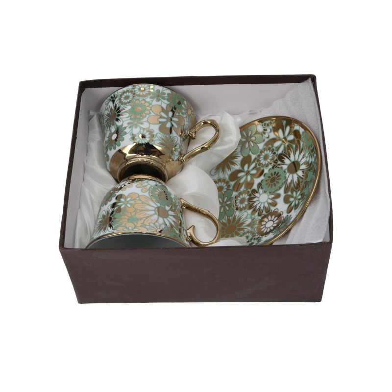 Ceramika kpl. filiżanek 250ml 2+2