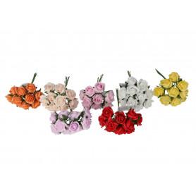 Kwiaty sztuczne róża pianka x10