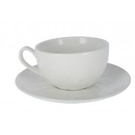 Ceramika filiżanka ze spodkiem 270ml