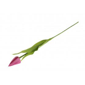 Kwiat sztuczny tulipan pojedyńczy 53cm