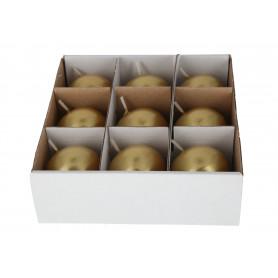 Свеча шарообразная БЛЕСК микс (4 см ) 8182
