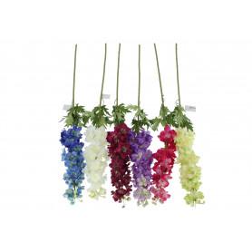 Kwiaty sztuczne ostróżka poj.