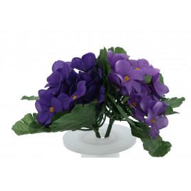 kwiaty sztuczne fiołek bukiet