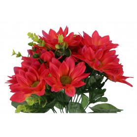 Kwiaty sztuczne dalia bukiet