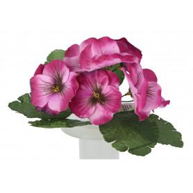 Kwiaty sztuczne bukiet bratek
