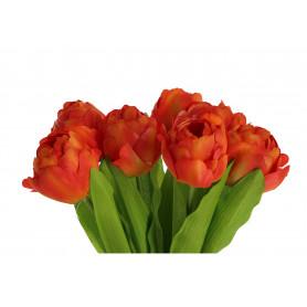 Kwiaty sztuczne bukiet tulipan pęczek