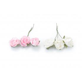 Paczka róż piankowych x12 ,8cm