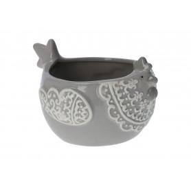 Ceramiczny pojemnik -kura