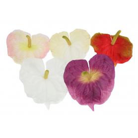Kwiaty sztuczne anturium wyrobowe