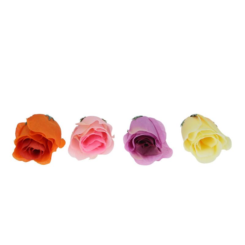 Искусственные цветы: роза CIENIOWANA hh[bltb (бутон )