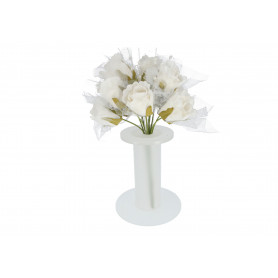 Kwiaty sztuczne: piankowy bukiet róż