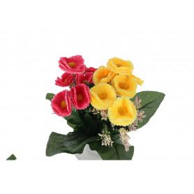 Kwiaty sztuczne bukiet stokrotek