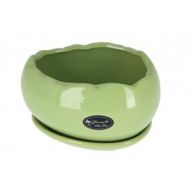 Ceramiczna doniczka JAJKO, mix kolorów