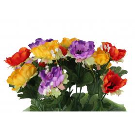 Kwiaty sztuczne anemon bukiet