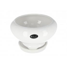 Ceramiczna doniczka UFO, mix kolorów