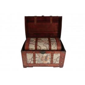 Drewniany kufer: zestaw 3 szt.