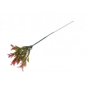 Kwiat sztuczny ostrokrzew plastikowy
