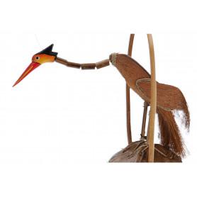 Drewno gong ptak 30cm