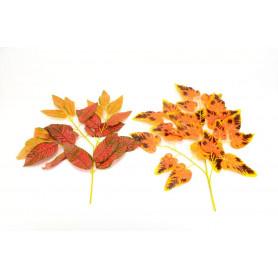 LIŚĆ KLONU-Kwiaty sztuczne