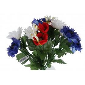 Kwiaty sztuczne chaber stokrotka bukiet