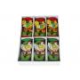 Drewniany spinacz kogut 10,5cm- zestaw 12szt.