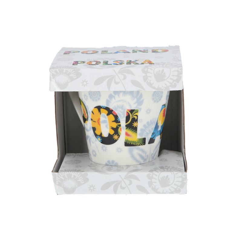 Ceramika kubek skośny FOLK