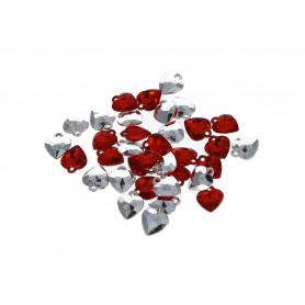 Декоративные сердечки подвески (1,1 см ) WWW1040